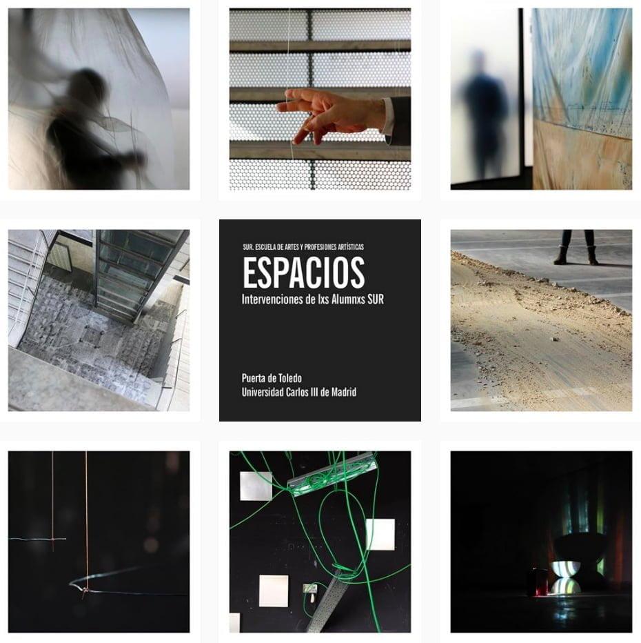 Exposición de lxs Alumnxs SUR en la Universidad Carlos III de Madrid 1