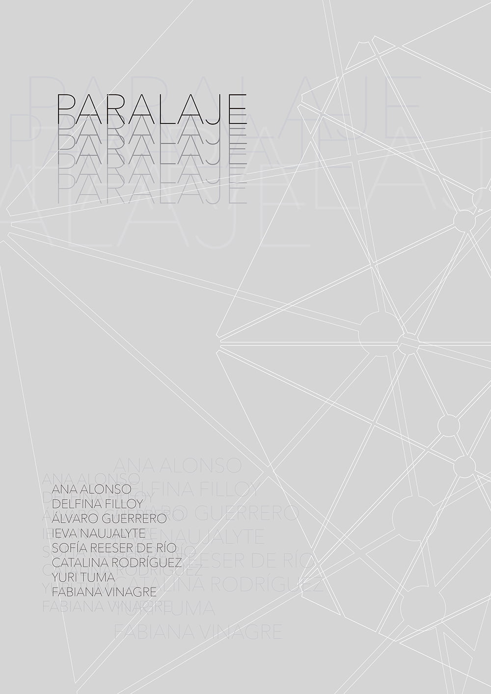 'paralaje', exposición Fin de Máster en Artes y Profesiones Artísticas 1