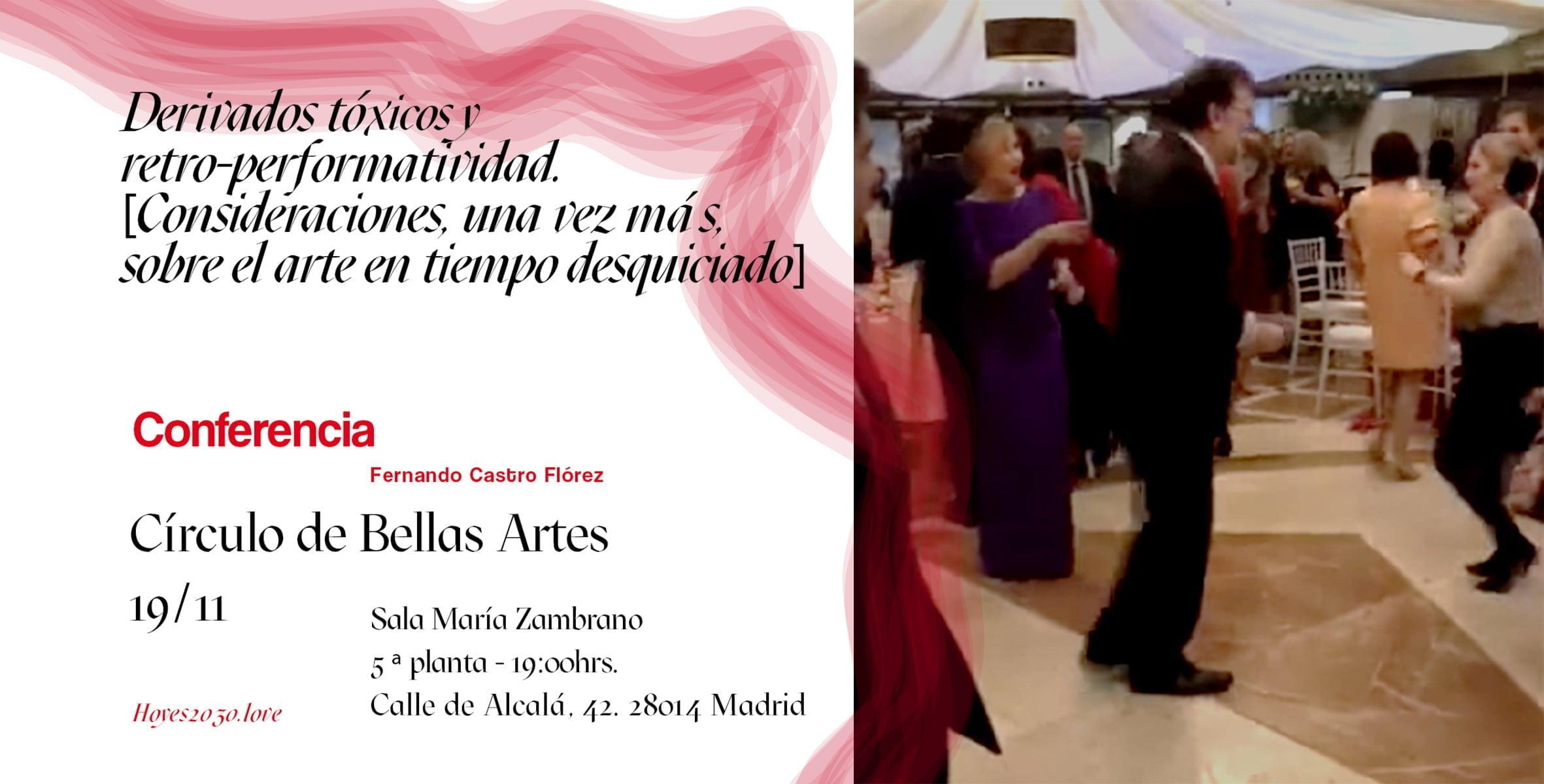 Fernando Castro en el Festival 'Hoy es 2030: Artes amatorias'