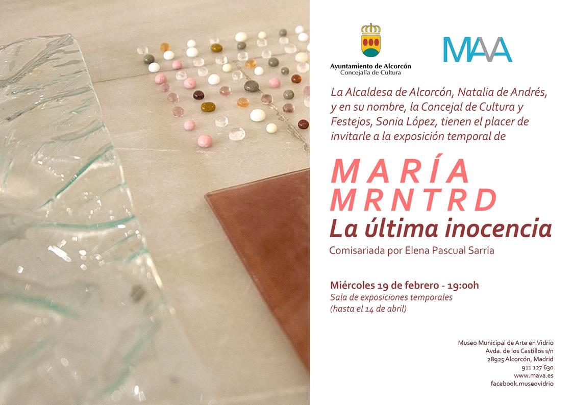 'La última inocencia', de María MRNTRD